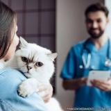 clínica veterinária 24h localização Vila Pedroso