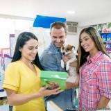 pet shop de animais preço Vila Jacuí