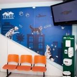 centro veterinário 24h localizar Jardim Robru